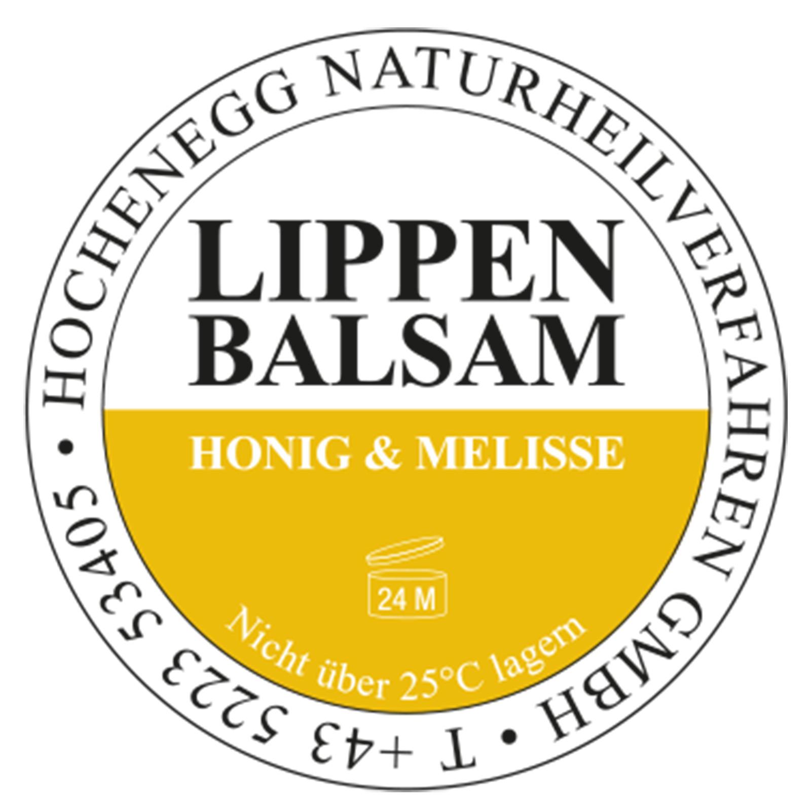 LIPPENBALSAM HONIG & MELISSE(12ml)