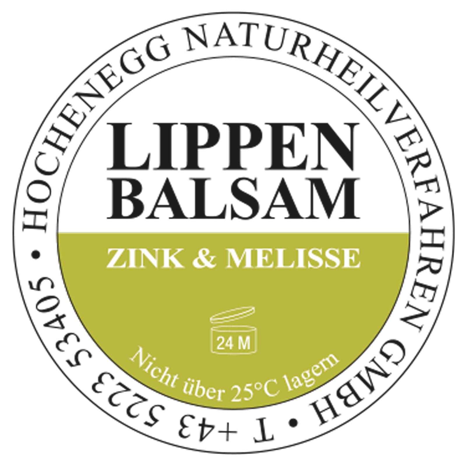 LIPPENBALSAM ZINK & MELISSE (12ml)